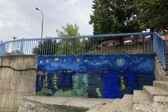 Oslikavanje-murala-na-vlasotinačkom-keju-1