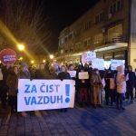 Protest Crvenih bedževa za čist vazduh: u Smederevu zagađenje i do devet puta veće od dozvoljenog
