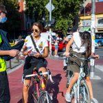 Akcija da se novosadski biciklisti bezbedno kreću kroz grad
